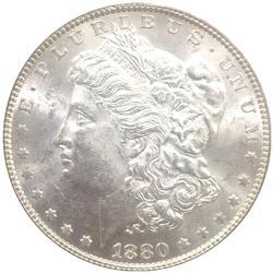 Exceptional BU 1880 New Orleans Minted Morgan Silver Dollar-Key Date!