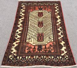Charming Handmade High Quality Vintage Persian Sarab