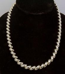 San Marco Sterling Silver Necklace, 18 inches