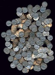 Large lot of 200 FULL DATE Buffalo Nickels