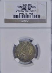 1745H 15 French Colonies, NGC