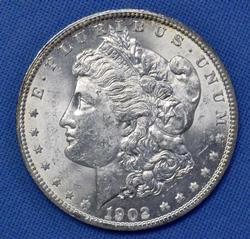 BU 1902-O Morgan Dollar