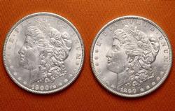 Two Centuries BU Morgans 1890 & 1900