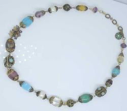 Stunning Gemstone Garden Necklace