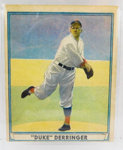 1941 Paul Derringer 4 Play Ball Baseball Card Graded