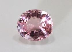 Huge Natural Pink Tourmaline - 5.82 cts.