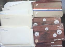 1979- 1985 US Mint Uncirculated Sets