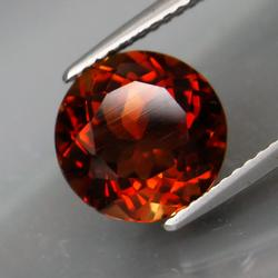 Impressive 4.50ct 10mm Imperial Topaz solitaire