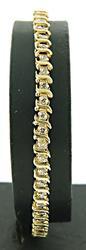 Classy S Link Diamond Bracelet