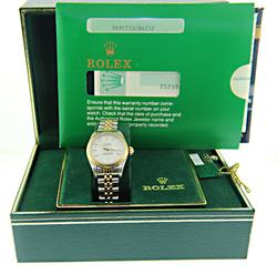 Rolex Datejust 26mm in Steel and Gold Watch