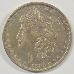 Scarcer 1882-O/S Morgan Silver Dollar. Nice