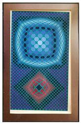 Lithograph Print, Victor Vasarely