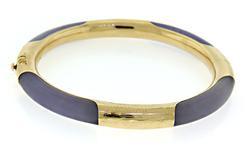 Nice Lavender Jade Bangle Bracelet