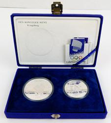 1994 Olympic Winter Games Sterling Coins, Norway w/COA