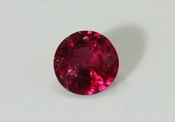 Bright Natural Ruby - 0.75 ct.