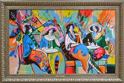 Isaac Maimon, Women In Cafe
