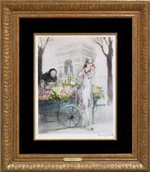 Louis Icart, Flower Seller