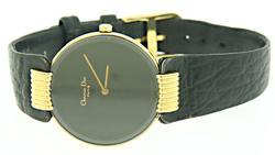 Ladies Christian Dior Bagira Black Moon Watch
