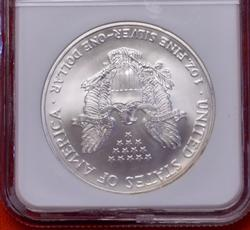 2006 MS69 First Strike Silver Eagle, NGC
