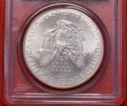 2010 MS70 First Strike Silver Eagle PCGS
