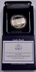 2007 Little Rock Central High Proof Commem Dollar