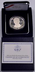 2009 Louis Braille Proof Commem Dollar
