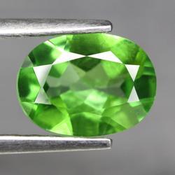 Glittering 1.31ct lime green Peridot
