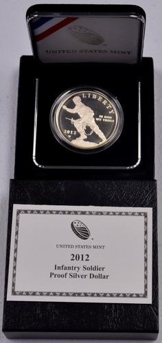 2012 Infantry Soldier Proof Commem Dollar