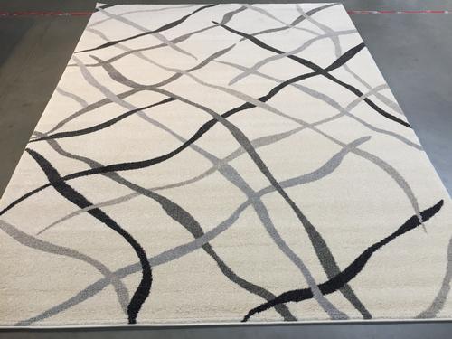 Carved Vivid Modern Design Area Rug 8X11