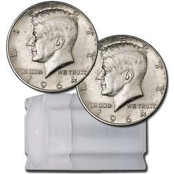 90% Silver Kennedy Halves Roll 20ct