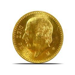 Mexico 10 Pesos Gold Coin