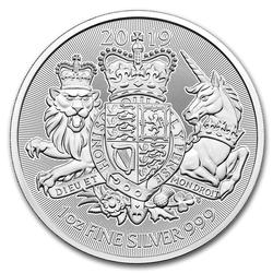 2019 Great Britain 1oz Silver The Royal Arms