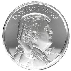 2oz Donald Trump Silver Round High Relief