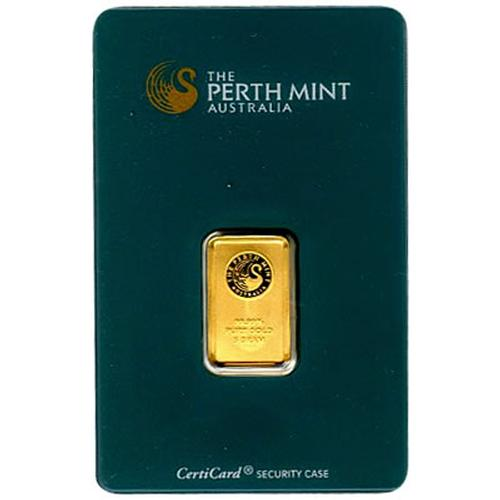 Perth Mint 5 Gram Gold Bar