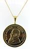 1oz Krugerrand Coin in 18kt Bezel