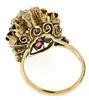 Thai Rings mixed Metals lot of 4