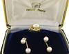 Tasaki Pearl Ring and Earrings