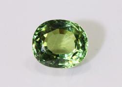 Soft Green Natural Tourmaline - 3.40 cts.