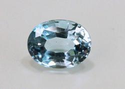 Natural Cerulean Blue Aqumarine - 2.52 cts.