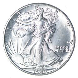 1939 Walking Liberty Silver Half Dollar - Uncirculated