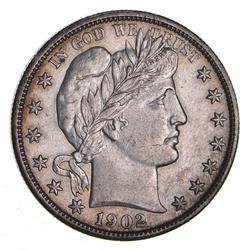 1902 Barber Half Dollar - Choice