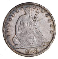 1878 Seated Liberty Half Dollar - Circulated