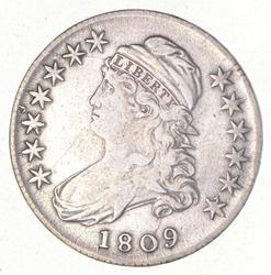 1809 Capped Bust Half Dollar - O-115a
