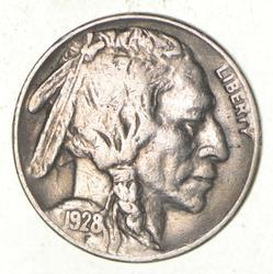1928-S Indian Head Buffalo Nickel