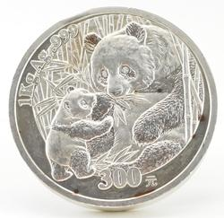 2005 China 300 Yuan 1 Kg. Fine Silver Panda - Kilo Huge