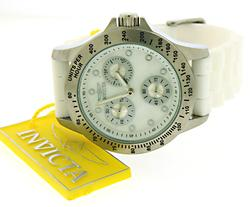 Invicta Speedway Multi Function Mother of Pearl Dial