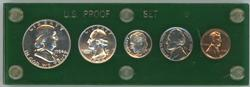 Gem 1954 5-pc US Proof Set in custom holder