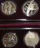 2 Different  2 Piece Proof 1995 US Olympic Silver Dollar Sets