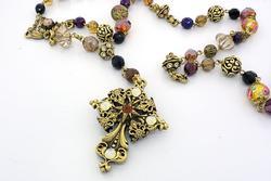 Baroque Rosary Necklace