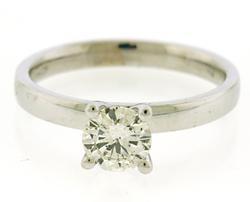 Amazing .70ct Round Brilliant Cut Diamond Ring